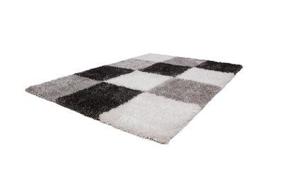 zwart wit geblokt vloerkleed vloerkleed met ruit karpettenwebwinkel. Black Bedroom Furniture Sets. Home Design Ideas
