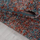 Hoogpolig terra gemeleerd vloerkleed Shaggy Queen 4500 _