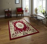 rood oriental vloerkleed
