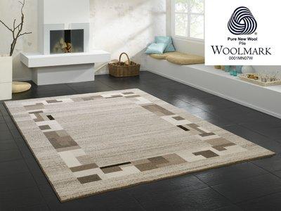 Aanbieding wol vloerkleed Wool Plus 469 Natur