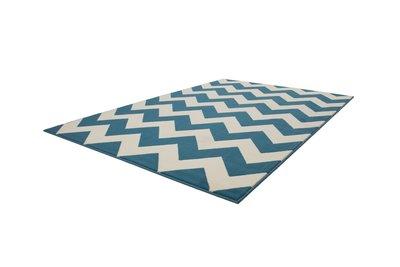 Turquoise modern karpet Manoa