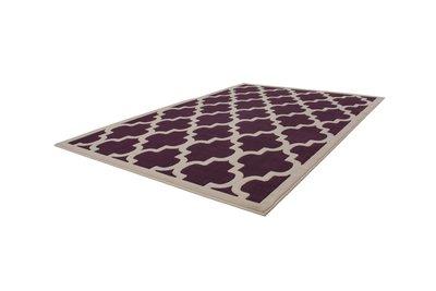 Vloerkleed modern Manoa Purple