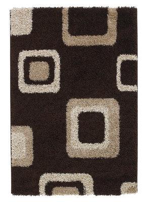Hoogpool vloerkleed Maestro kleur bruin 2751