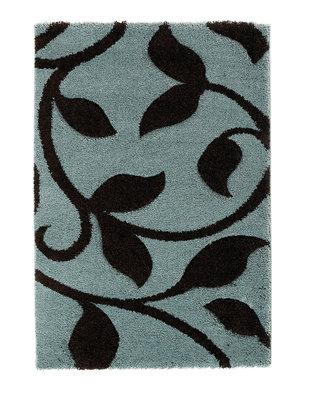 Modern vloerkleed Tapesa kleur blauw bruin 7647