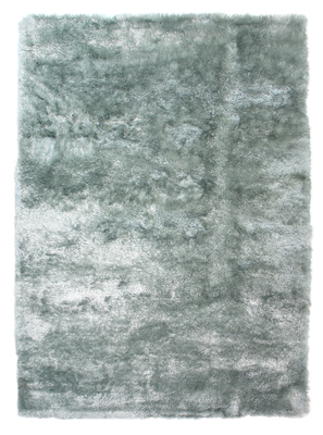 Hoogpolig tapijt Silence kleur licht blauw