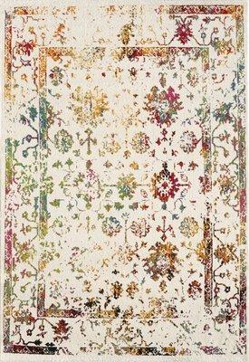 Vloerkleed vintage Borneo 1611 White