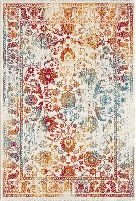 Moderne vloerkleden en tapijten Borneo 1606 Multi