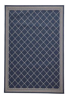 Vloerkleed Kenia kleur blauw CT7643