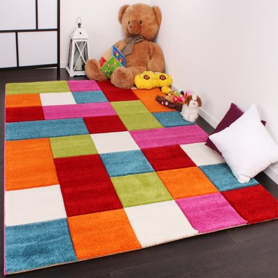Kinderkamer vloerkleed Kelly 646 Multi 110