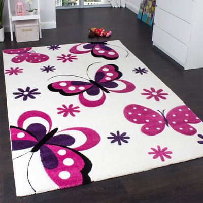 Kinderkamer vloerkleed Kelly 772 Creme 64