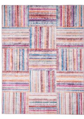Vloerkleed Blocks kleur multi