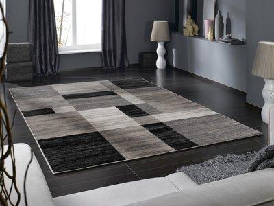 Ronde Vloerkleed Goedkoop : Hoogpolig grijs modern vloerkleed nu goedkoop kopen