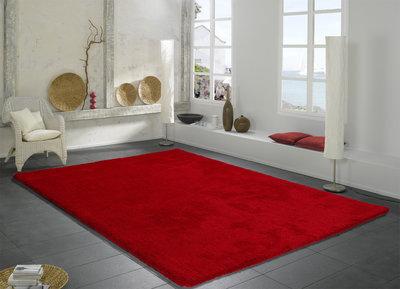 Rood Tapijt Aanbiedingen : Vloerkleed hoogpolig hoogpolige vloerkleden aanbieding