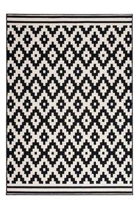 Ongebruikt Designer vloerkleed Stellos Zwart Wit - Vloerkleed en Karpet XU-86