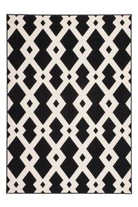 tapijt wit zwart